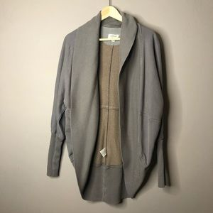 Aritzia wilfred Diderot gray sweater large